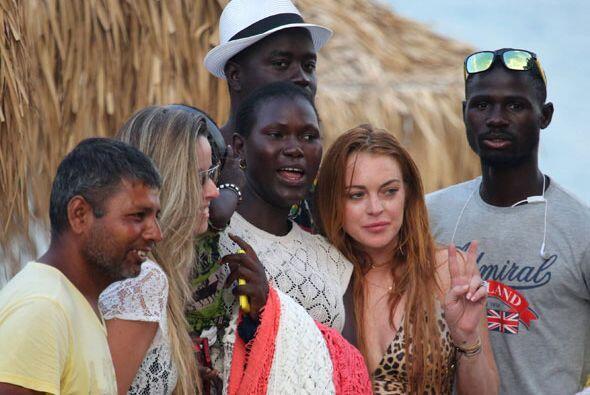 La estrella de cine sigue sus vacaciones por el viejo continente. Esta v...