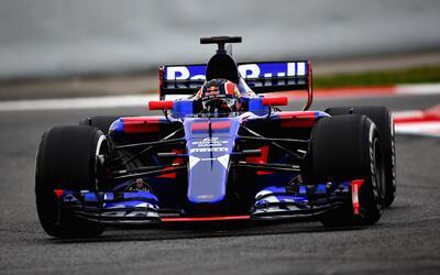Así es el colorido STR12 de Toro Rosso, una de las atracciones de la Fór...