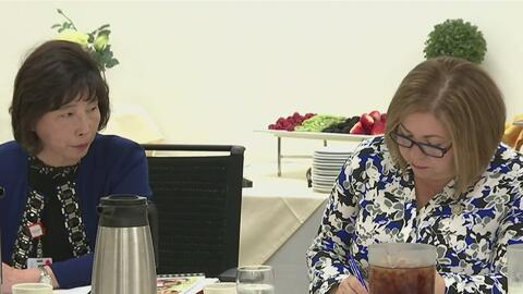 Directivos del hospital Beverly se reunieron con la congresista Linda Sá...