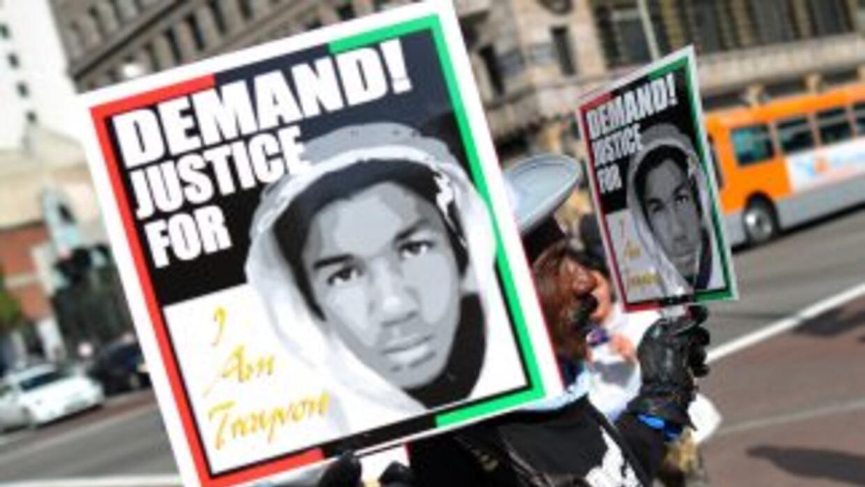 La muerte de Trayvon martin desencadenó una ola de protestas en todo el...