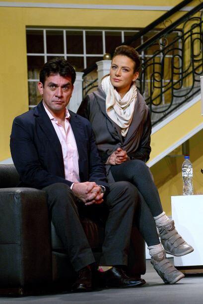 """Silvia Navarro y Jorge Salinas transmitirán el amor de """"Ana&..."""