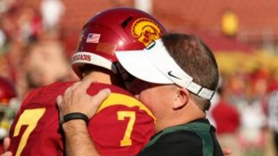 Matt Barkley y Chip Kelly fueron rivales a nivel colegial.