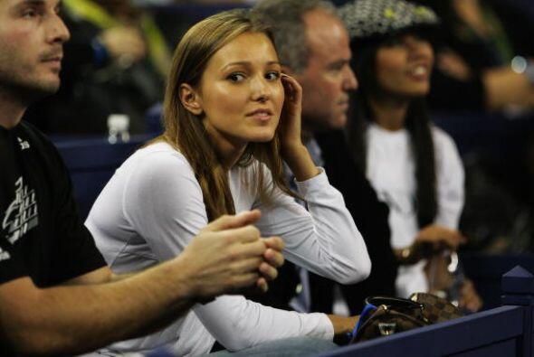 Jelena Ristic es la novia del número uno del mundo, Novak Djokovic.