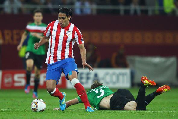 Radamel Falcao García jugaba con el récord de haber sido goleador y camp...