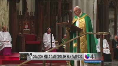 Papa Francisco aclamado en NY