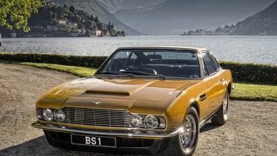 Este color de Aston Martin se hizo popular gracias a la serie. (Foto: Tw...