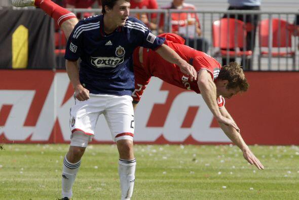 Para Chivas sólo hubo oportunidad de marcar un gol para intentar una rea...