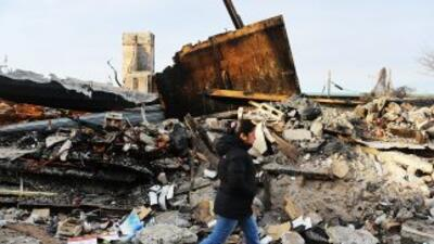 """Tan solo el huracán """"Sandy"""" provocó en octubre daños por valor de unos $..."""