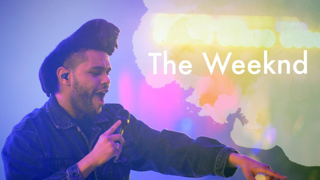 The Weeknd en concierto