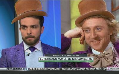 La vestimenta de Edgar Martínez que hizo furor en las redes. ¡Mágico!