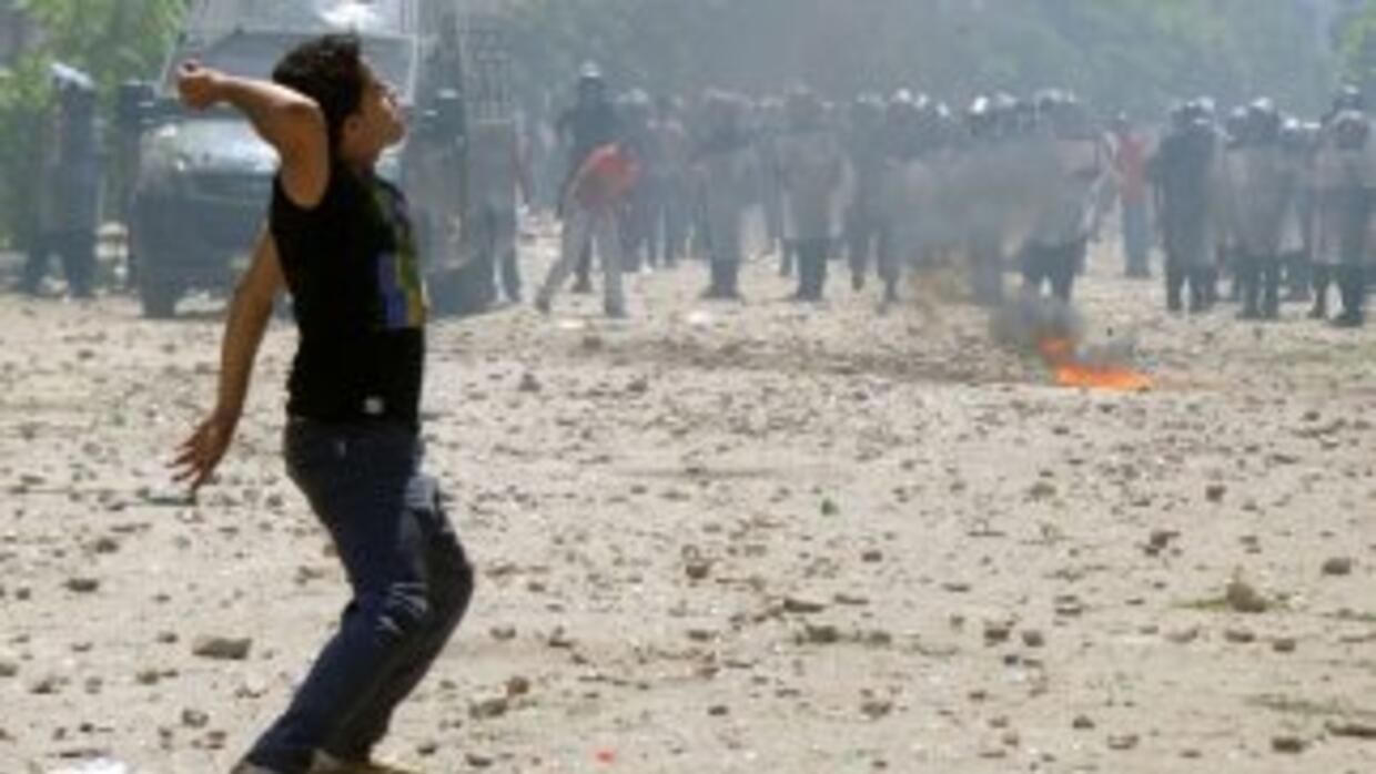 Según datos oficiales, los enfrentamientos dejaron entre 70 y 80 heridos...
