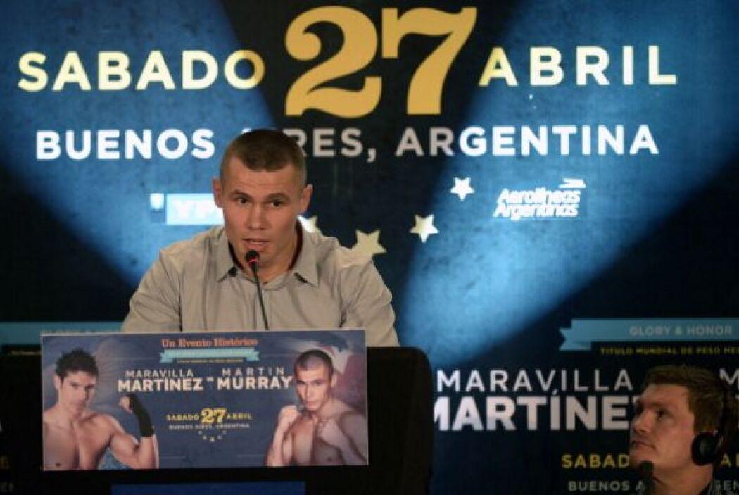 Murray comentó que sabía de lo importante que es Martínez para el deport...