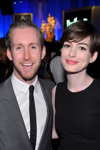 Anne Hathaway y Adam Shulman Después de cuatro años de rel...