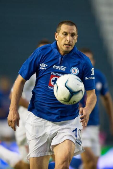 Christian Giménez  País de Origen: Argentina  Equipo: Cruz Azul  'Chaco'...