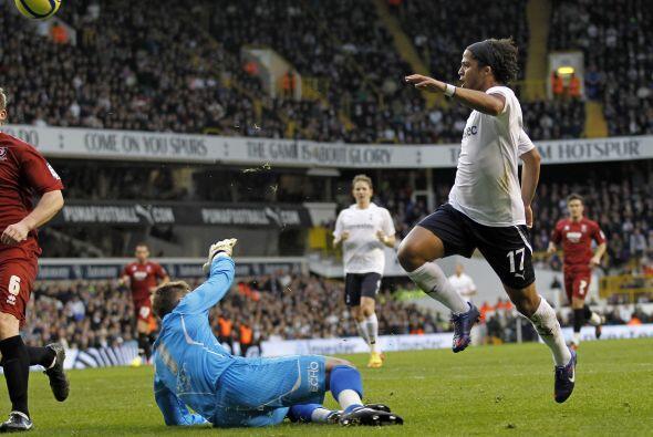 En la FA Cup vivió un buen momento en la tercera ronda del evento cuando...