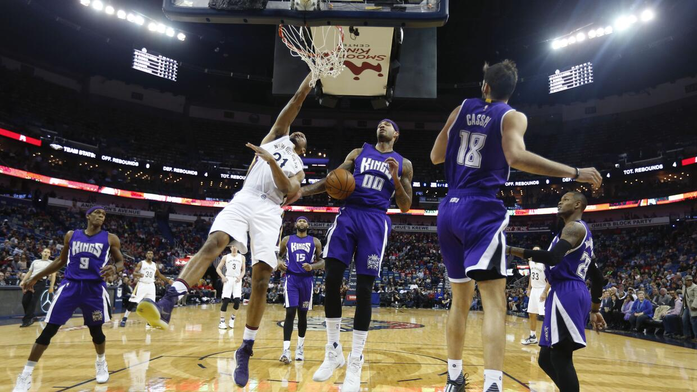 New Orleans derrotó 114-105 a Sacramento