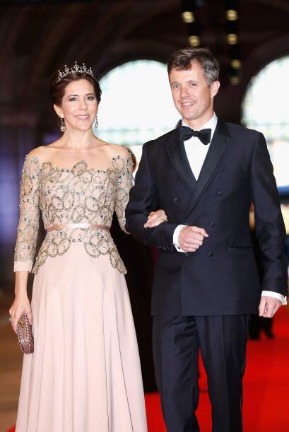 La princesa Mary de Dinamarca también es fan de los diamantes y l...