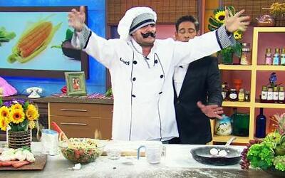 Guerra de espagueti entre el chef Tutti y chef Pepín