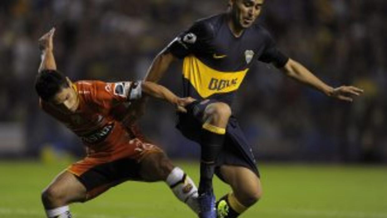 Con un gol de Nicolás Blandi a los 9 minutos de juego, Boca sacó un impo...