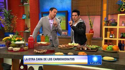 Conoce la otra cara de los carbohidratos con Alejandro Chabán