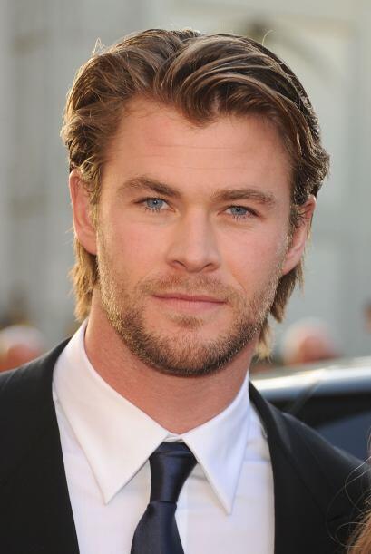 Chris Hemsworth, que también encarnó a un superheroe en la...