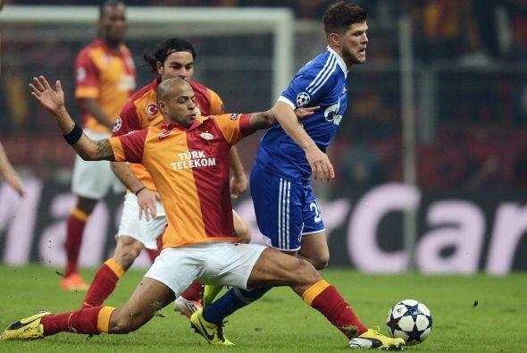 En el útimo juego, el Galatasaray recibió al Schalke 04.