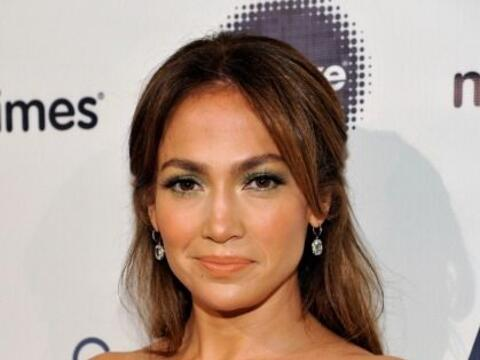 Jennifer Lopez recibió el 'Premio Grace Kelly', durante el octavo almuer...
