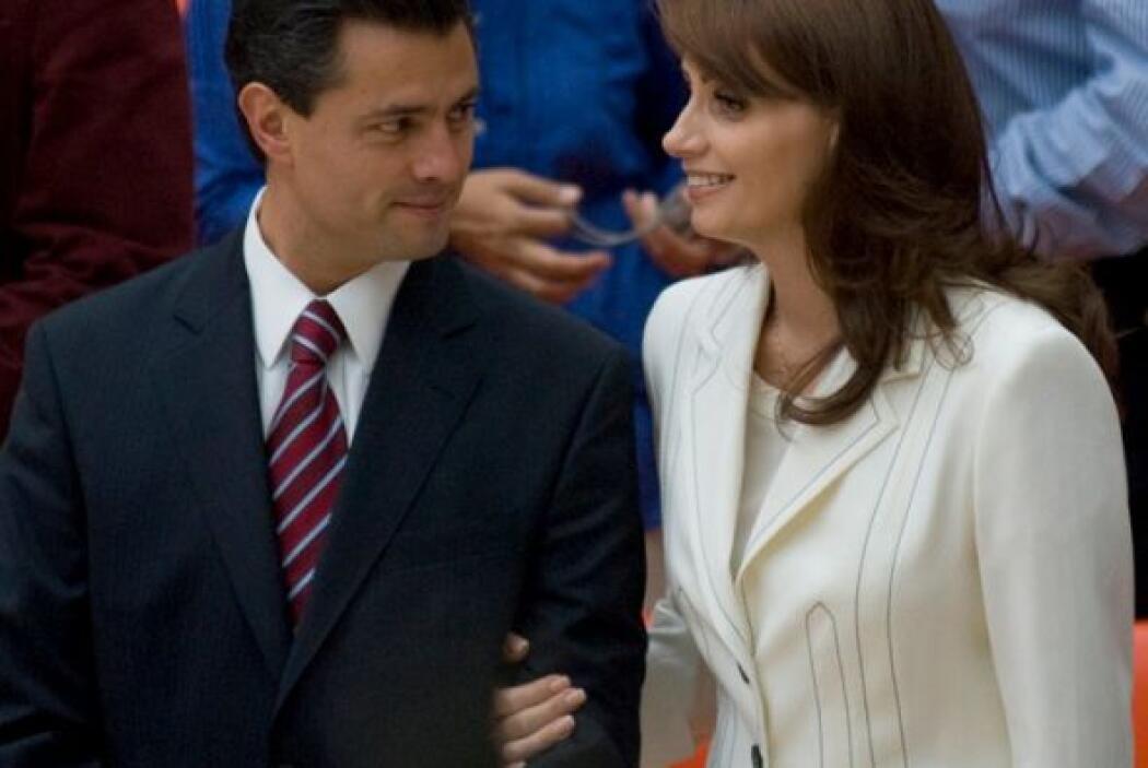 El gobernador del Estado de México, Enrique Peña Nieto, se casa este sáb...