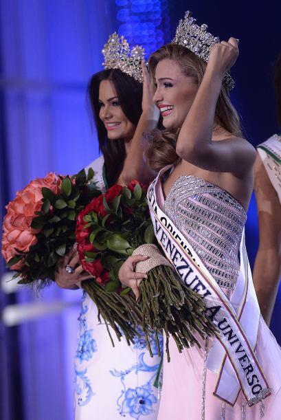 Migbelis Castellanos es la nueva reina de belleza de Venezuela y la que...