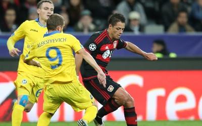 Leverkusen derrotó al Bate en la primera jornada