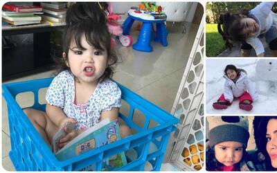 Peque Babies de Univision: Las monerías de Baby Giulietta nos derriten t...