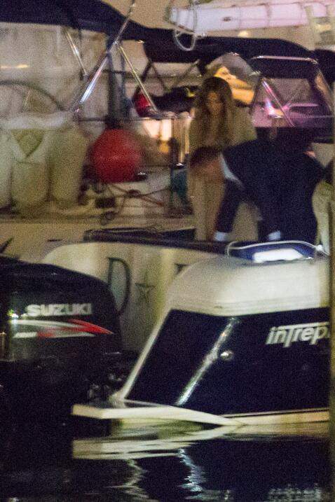 Jennifer Lopez y Alex Rodríguez en las Bahamas