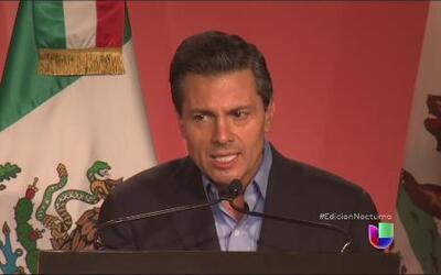 Enrique Peña Nieto llegó a California