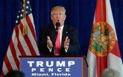 El magnate solo dijo que su :buen desempeño en encuestas: se debe a que...