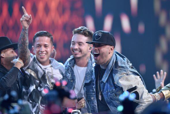 Una lluvia de talento llegó con Nicky Jam, De la Ghetto, J Balvin, Zion...