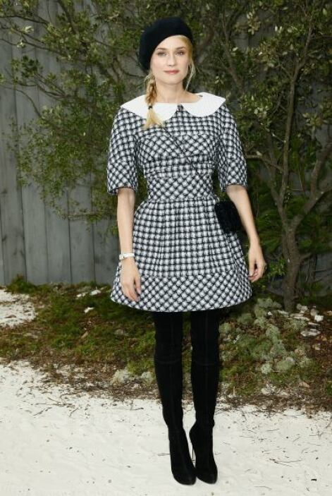 Diane Kruger ama tanto Chanel que está dispuesta a dar la cara por ella...