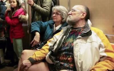 Así se celebró el Día de Viajar en el Metro sin Pantalones