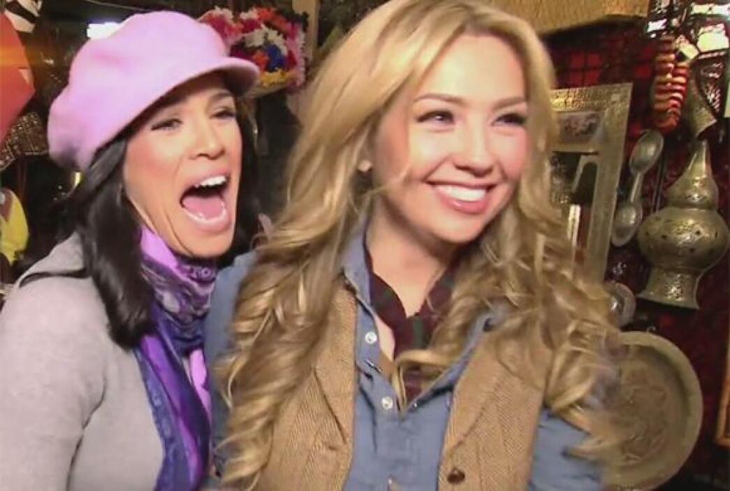 A las mujeres les encanta ir de compras, Karla y Thalía no podían ser la...