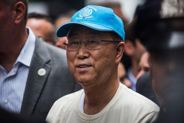 El secretario general de Naciones Unidas, Ban Ki-Moon.
