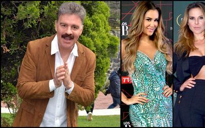 Ari Telch y sus amores con Kate del Castillo y Ninel Conde