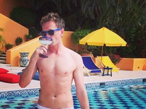 Neil Patrick Harris se fue de vacaciones a México con su pareja, David B...