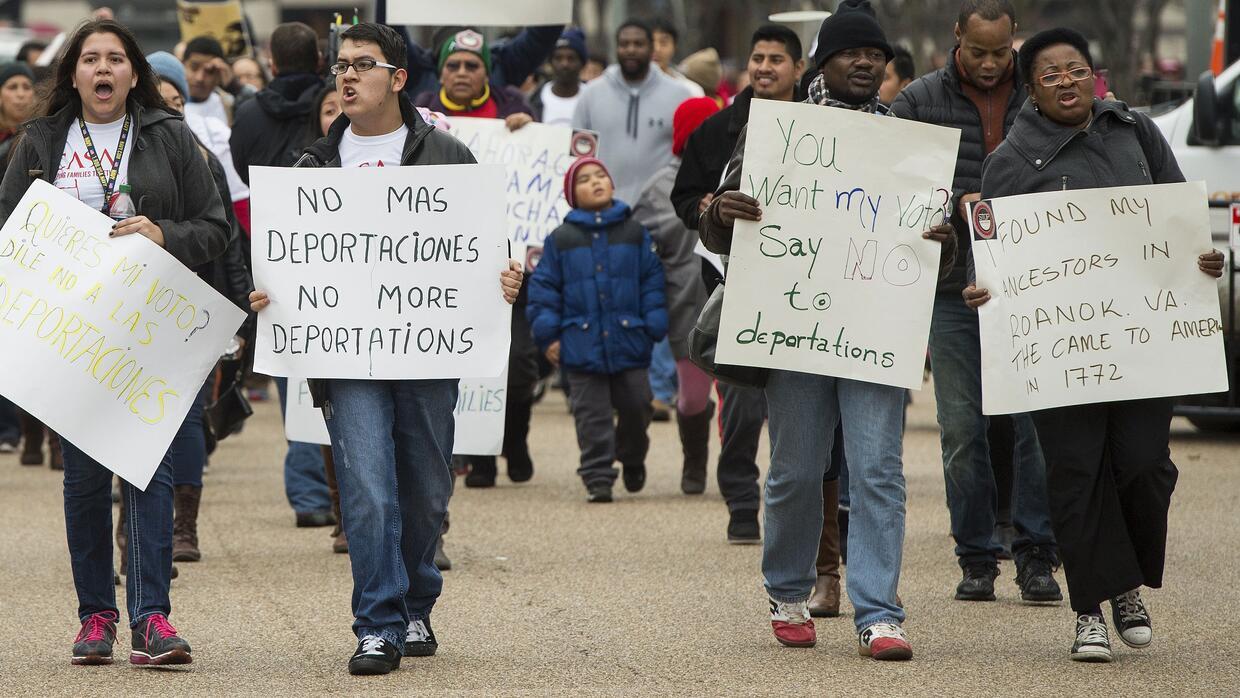 Los inmigrantes de Estados Unidos piden a Obama que detenga las deportac...