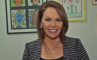 María Elena Salinas envió felicitaciones a Satcha Pretto por su embarazo