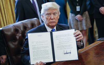 """Trump: """"Construiremos nuestros propios oleoductos"""""""