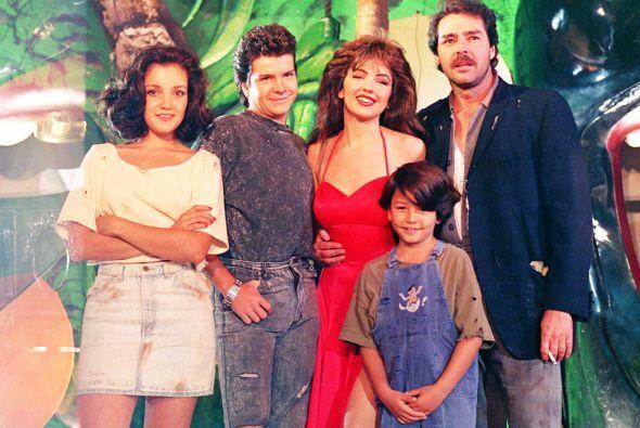 """Comenzó su carrera desde muy joven en """"María la del Barrio""""."""