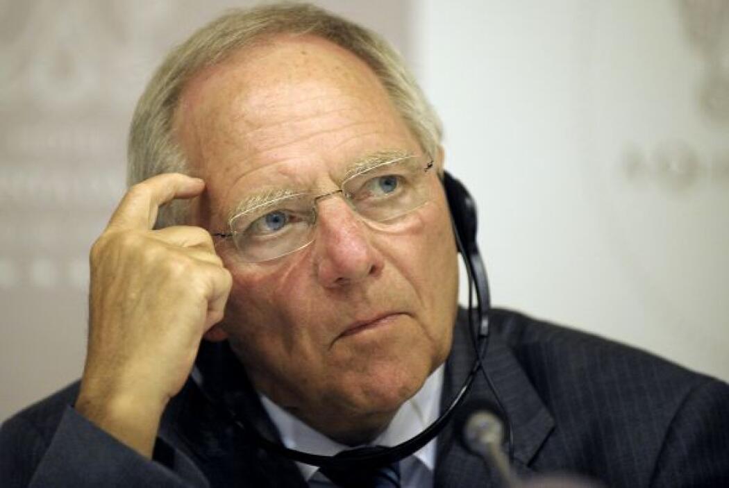 Schaeuble dejó en claro que la ayuda a España eliminará la incertidumbre...