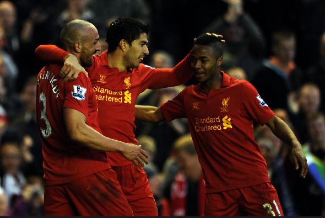 Victoria de 3-0 del Liverpool ante Wigan y uno de dichos goles fue conse...