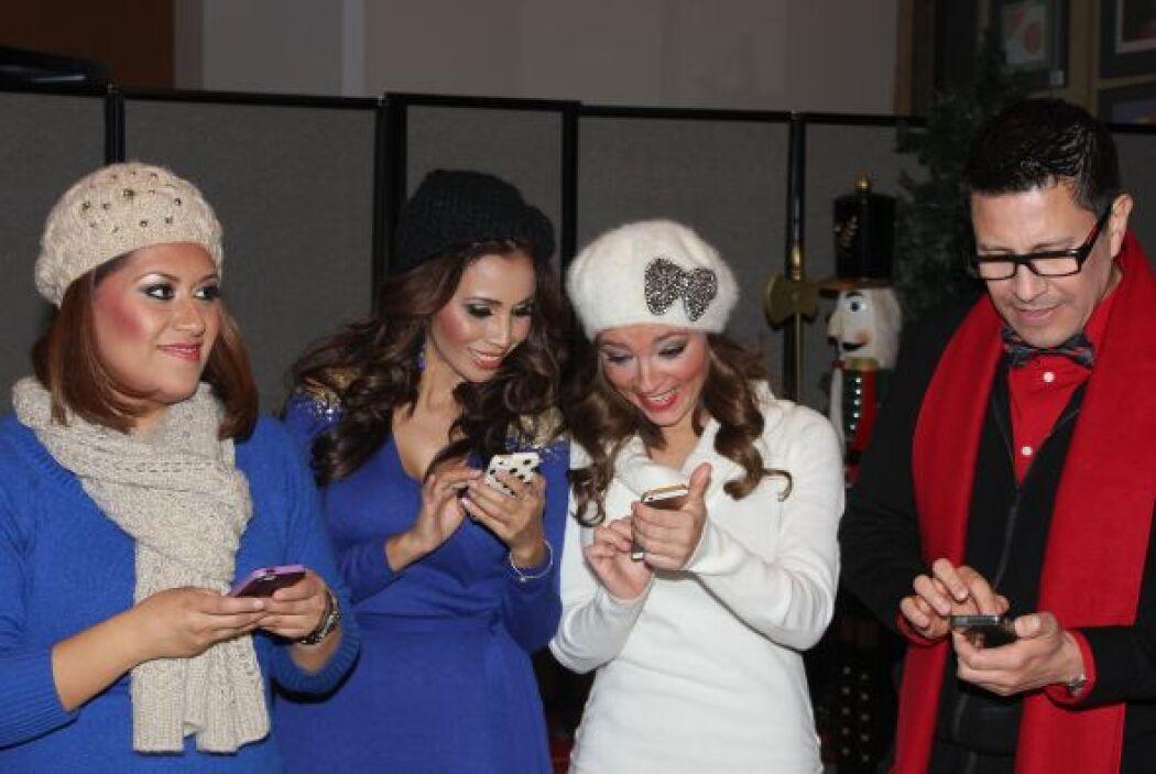 Clara, Ale, Carolina y Sergio compartieron un momento de risas y diversi...