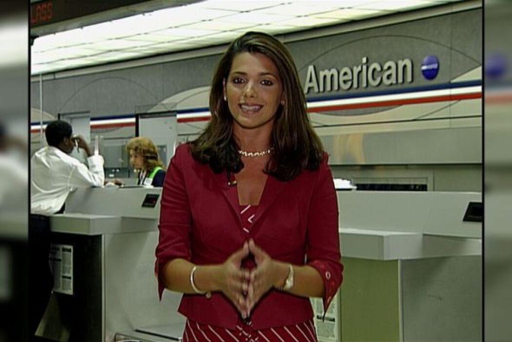 """Bárbara en su faceta de reportera. ¿Qué les parece su """"look"""" ?"""