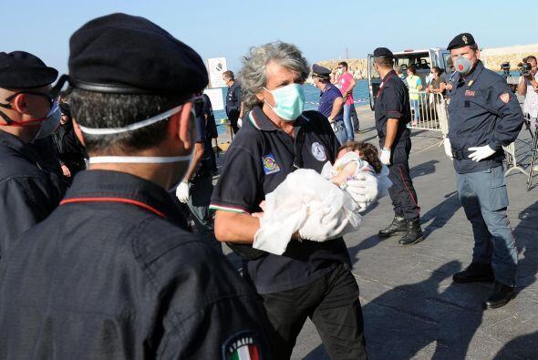 """Las autoridades italianas """"no quieren un mar de muertos, sino que e..."""